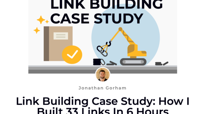 link building case study