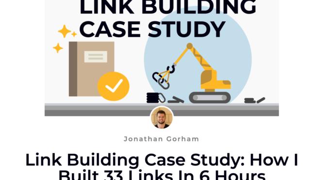 link building case study